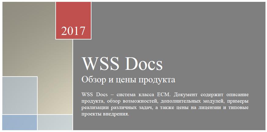 WSS Docs